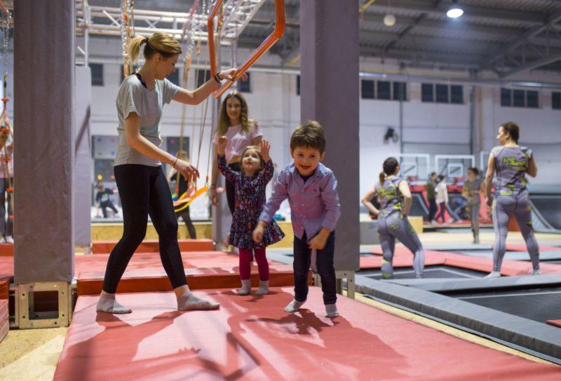Zajęcia sportowe dla dzieci, trampoliny dla dzieci w Krakowie